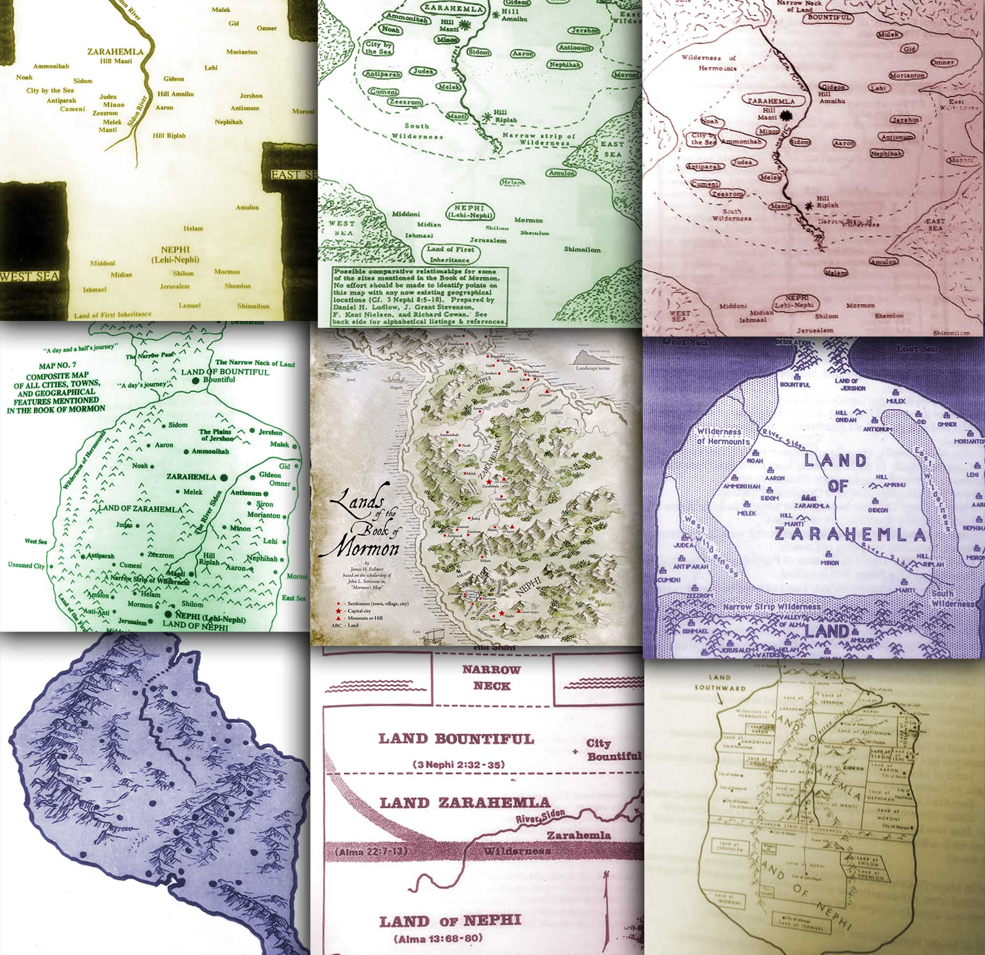 map-collage