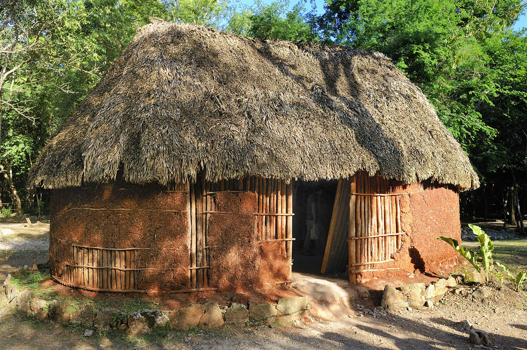 thatched-house