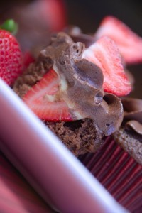 Fresh Strawberry Cupcakes 4