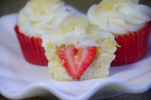 Fresh Strawberry Cupcakes 5