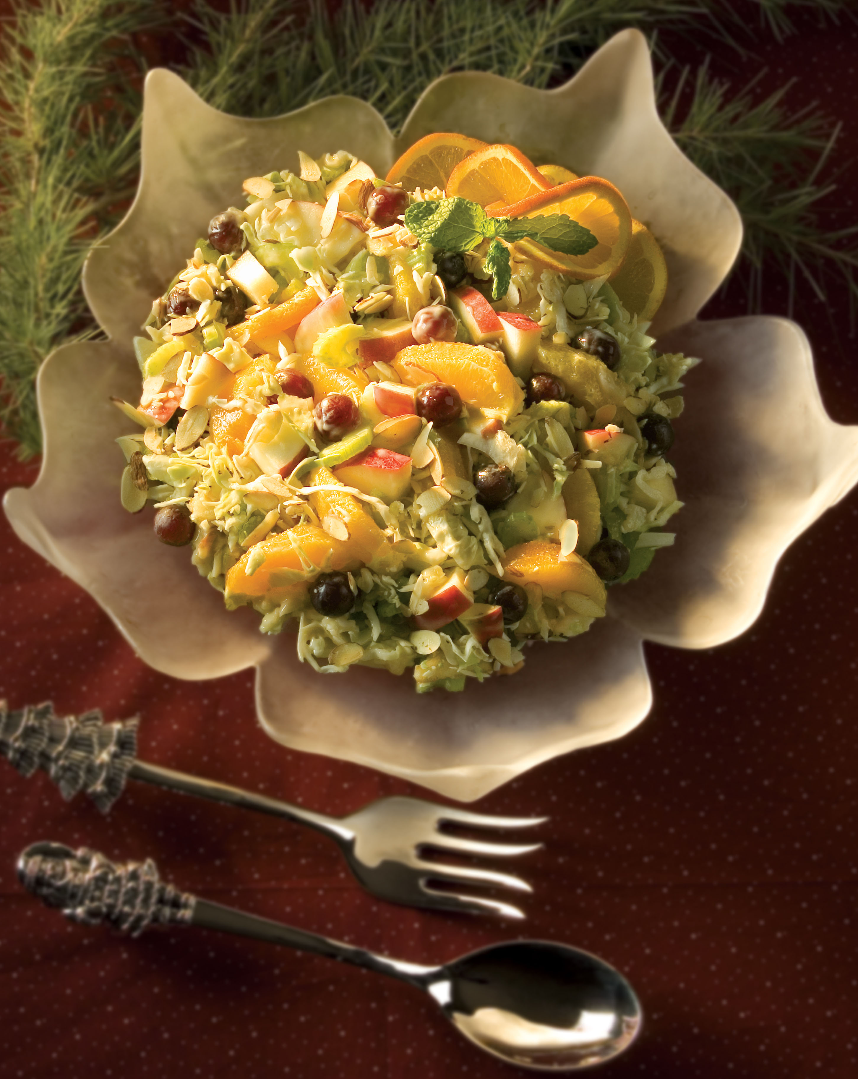 Orange Fruit Slaw