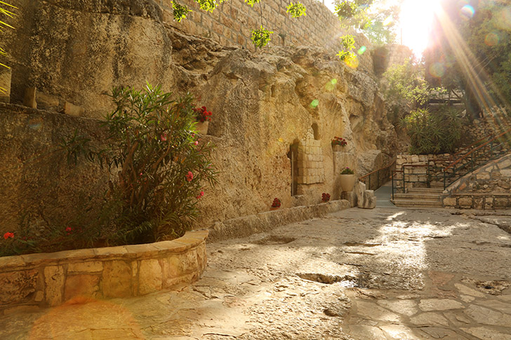 A visit to the Garden Tomb is a highlight of the trip. This is why you came to the Holy Land.