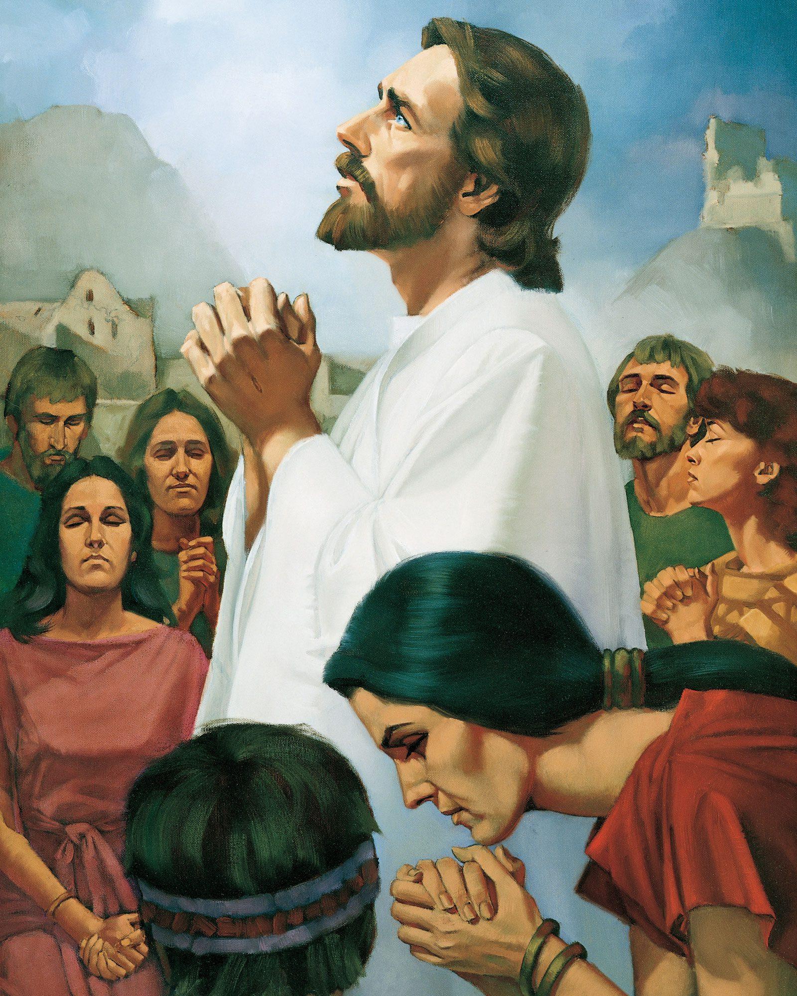 christ-praying