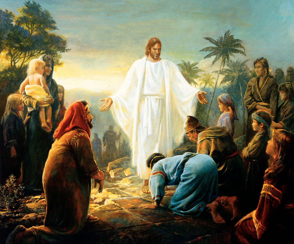 christ-visiting-nephites