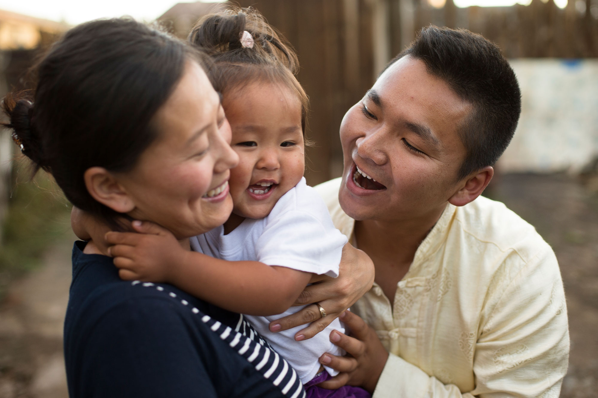 mongolian-family