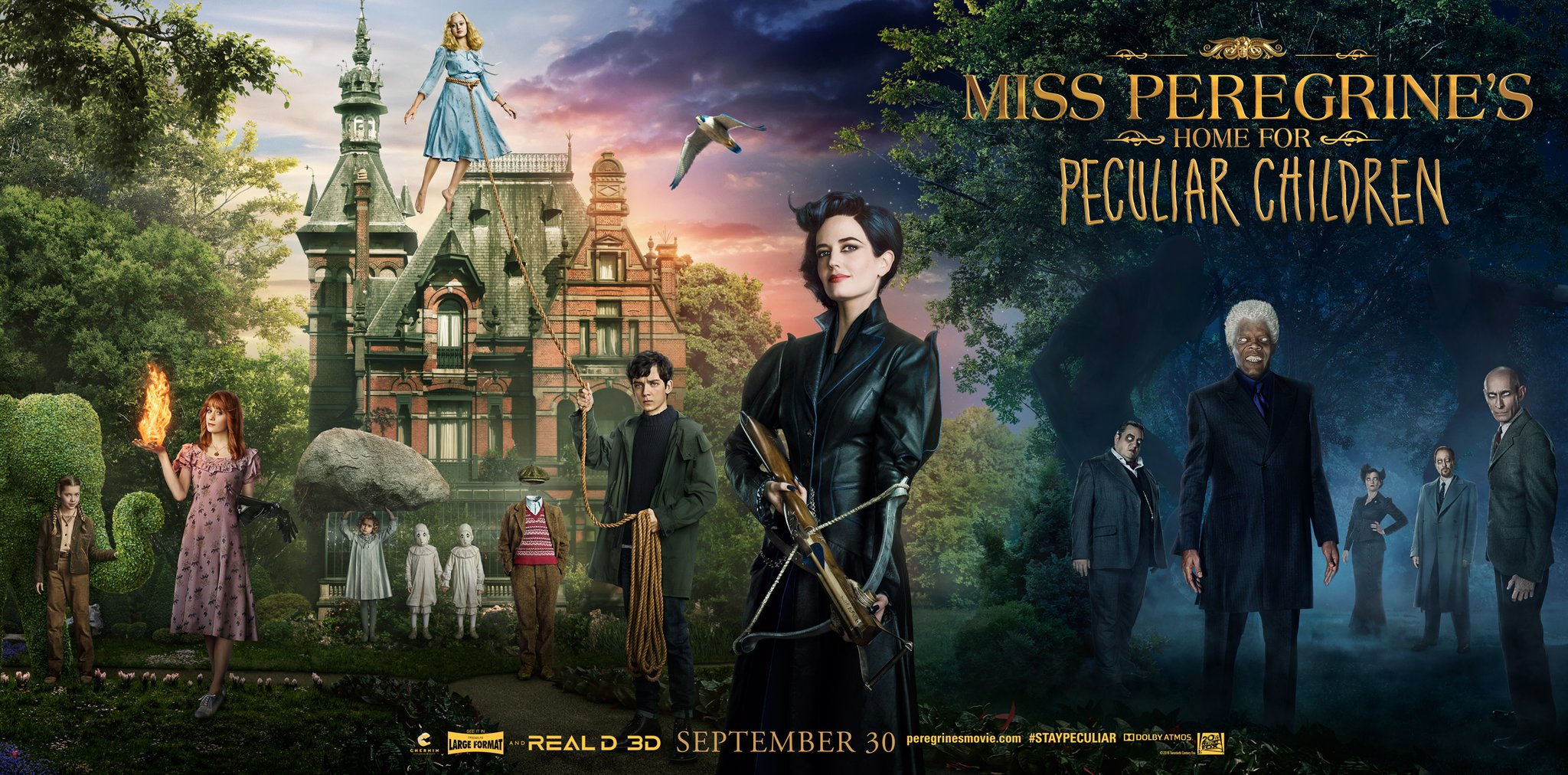 Miss Peregrine S Home For Peculiar Children Full Movie Movies