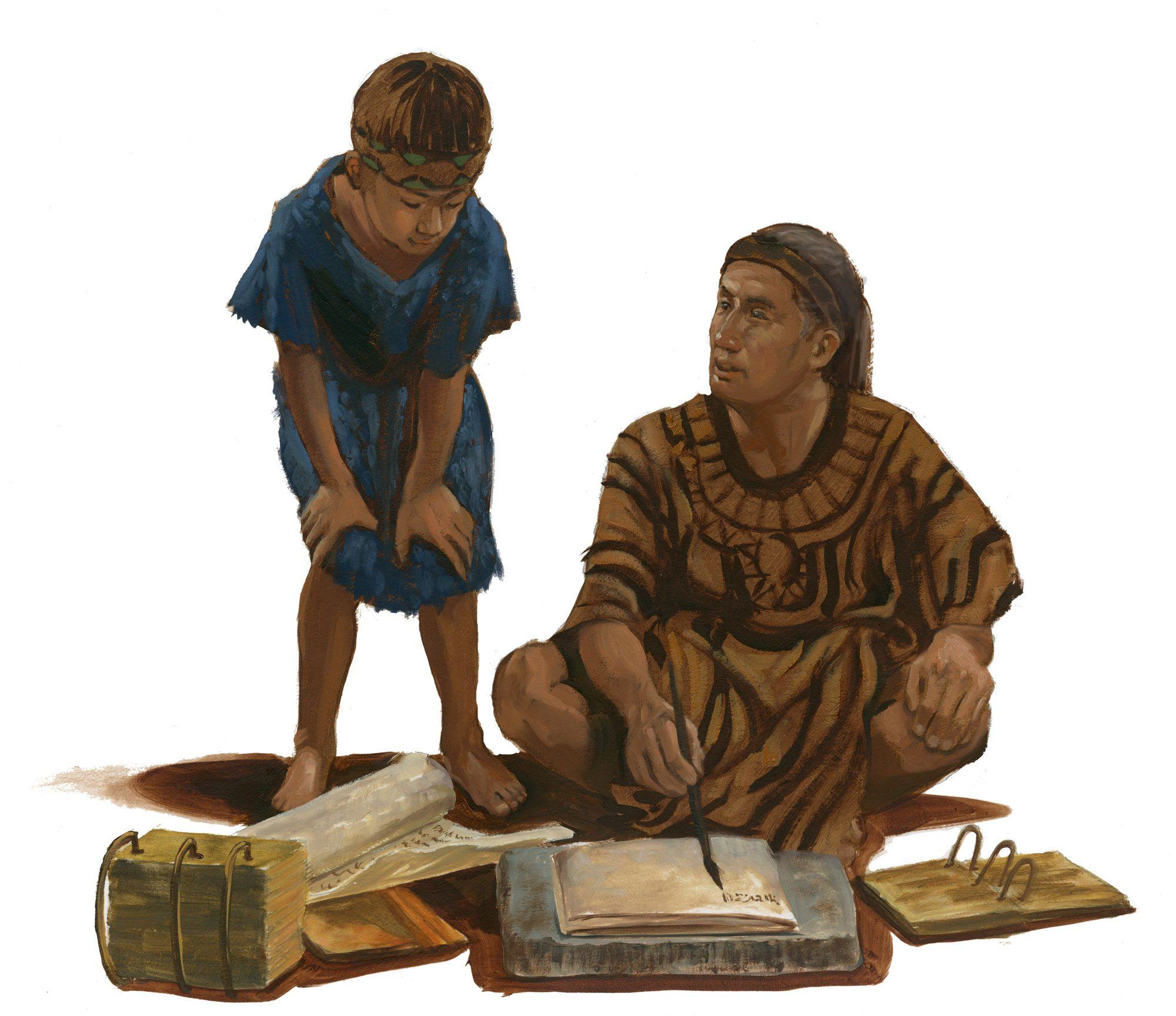 mormon-and-ammaron