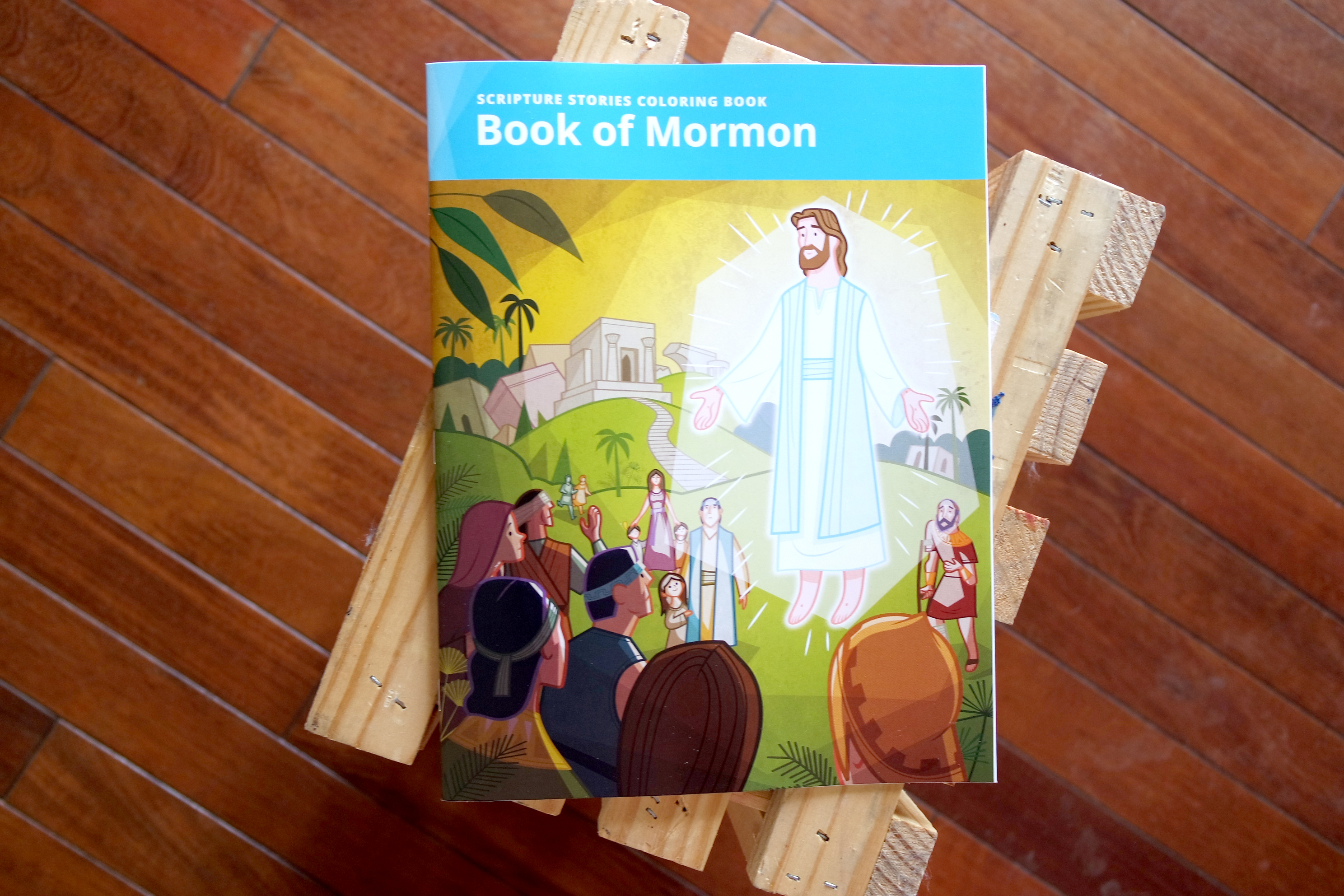 Lds Coloring Pages Pdf : Church coloring books help families have fun with scripture stories