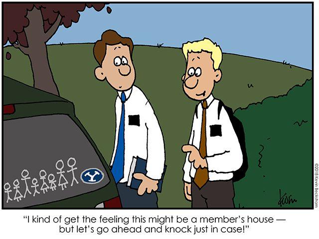cartoon  mormon country