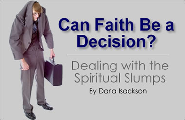 Can Faith Be a Decision?