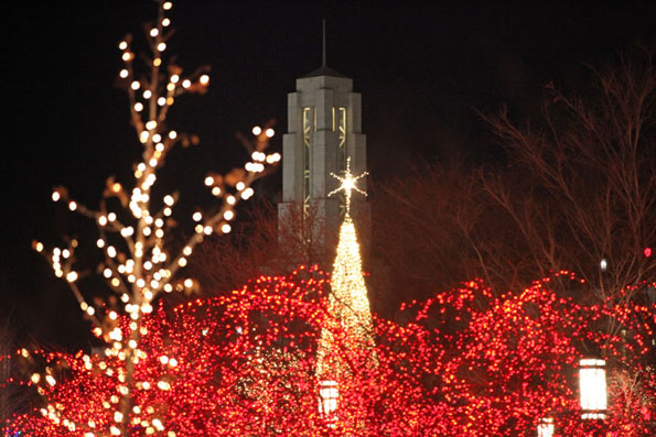 Temple Square Lights 0001