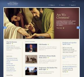 New Redesign of LDS org Website to Greatly Enhance