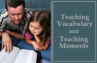 Teaching Vocabulary and Teaching Moments